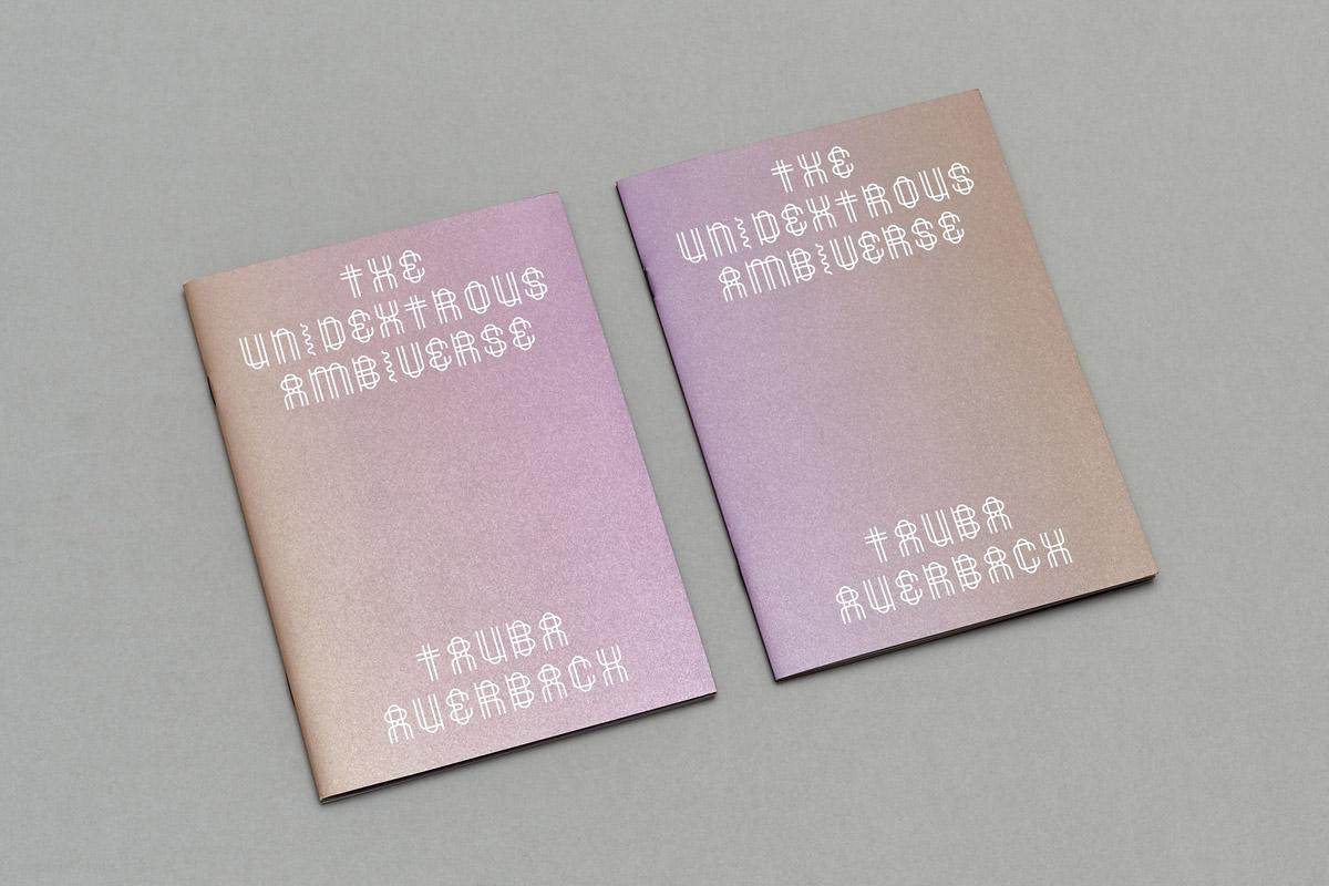 Tauba Auerbach: The New Ambidextrous Universe Reading List